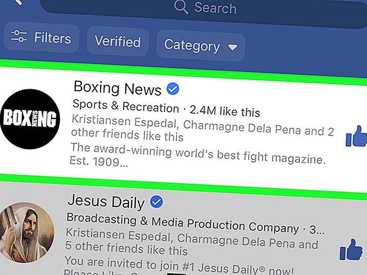 Cara melihat pesan tersembunyi Facebook di iPhone