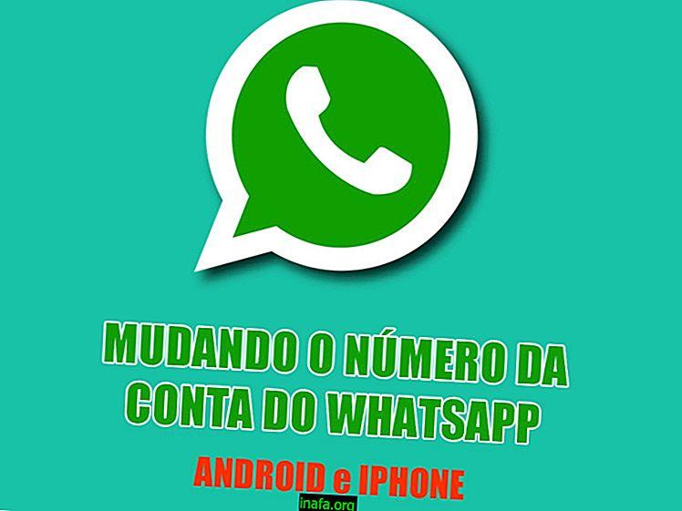 Sådan ændres WhatsApp-nummer, når du skifter telefon