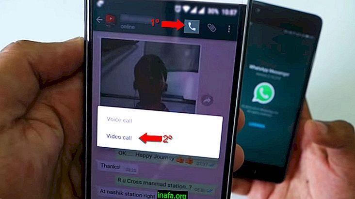 Kako opraviti video klice na Android WhatsApp