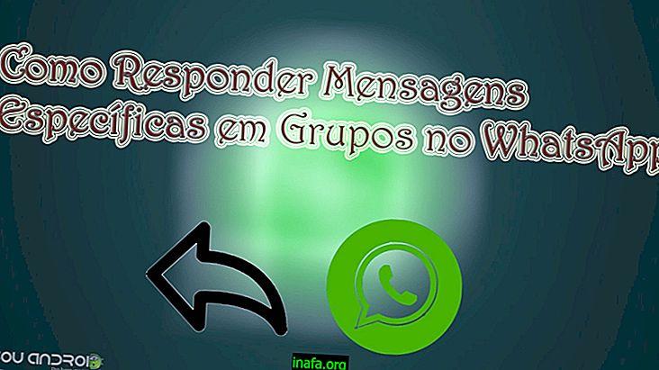 Bagaimana untuk membalas mesej kumpulan di WhatsApp