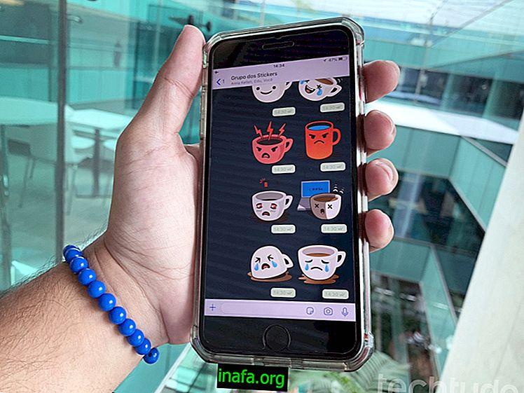 Cara membuat pelekat pada WhatsApp Android
