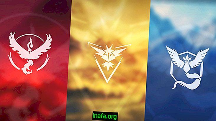 Pokémon Go에서 선택할 수있는 세 팀 중 하나를 찾으십시오.