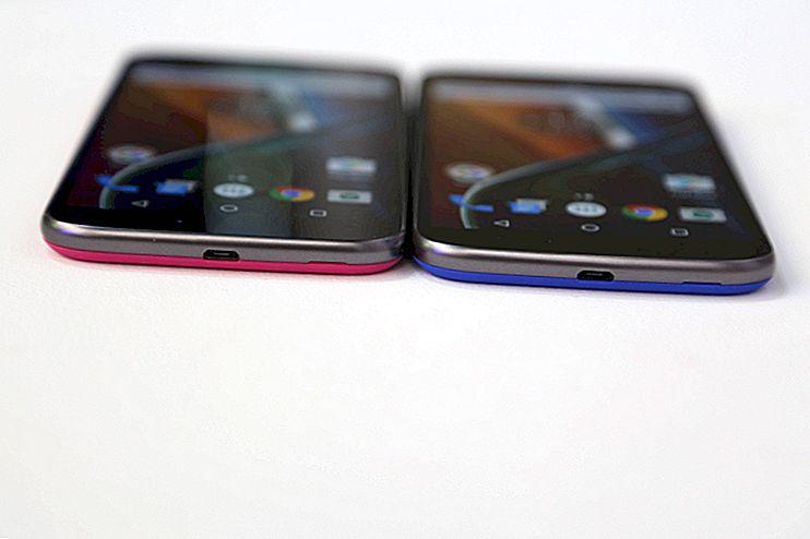 6 perbedaan antara Moto G4 dan G4 Plus